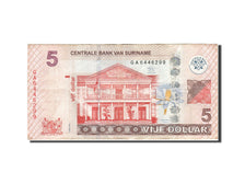 Suriname, 5 Dollars, 2012, 2012-04-01, TB