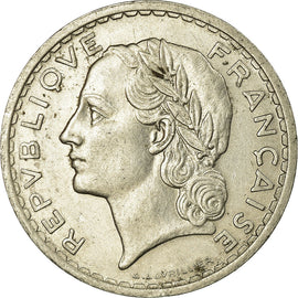 Monnaie, France, Lavrillier, 5 Francs, 1938, Paris, TTB, Nickel, Gadoury:760