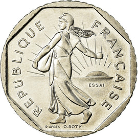 Monnaie, France, Semeuse, 2 Francs, 1978, Paris, ESSAI, SPL+, Nickel
