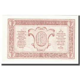 France, 1 Franc, 1917-1919 Army Treasury, Undated (1917), NEUF, Fayette:VF 3.5