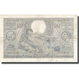 Billet, Belgique, 100 Francs-20 Belgas, Undated (1938), KM:107, TB