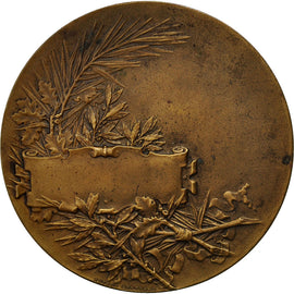 France, Medal, Femme nue Assise, Pillet, SUP, Bronze