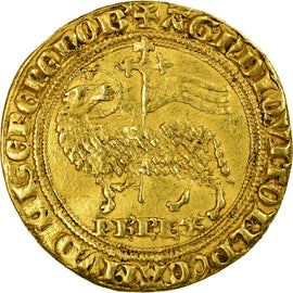 Monnaie, France, Philippe IV le Bel, Agnel d'or, 1311, Extremely rare, TB+, Or