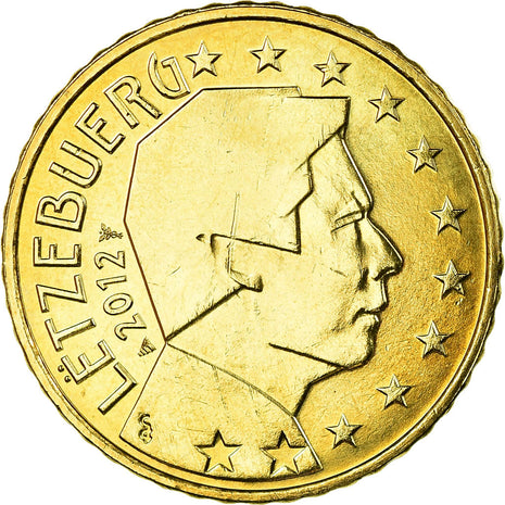 Luxembourg, 50 Euro Cent, 2012, SPL, Laiton, KM:91
