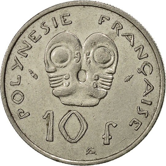 French Polynesia, 10 Francs, 1982, Paris, TTB, Nickel, KM:8