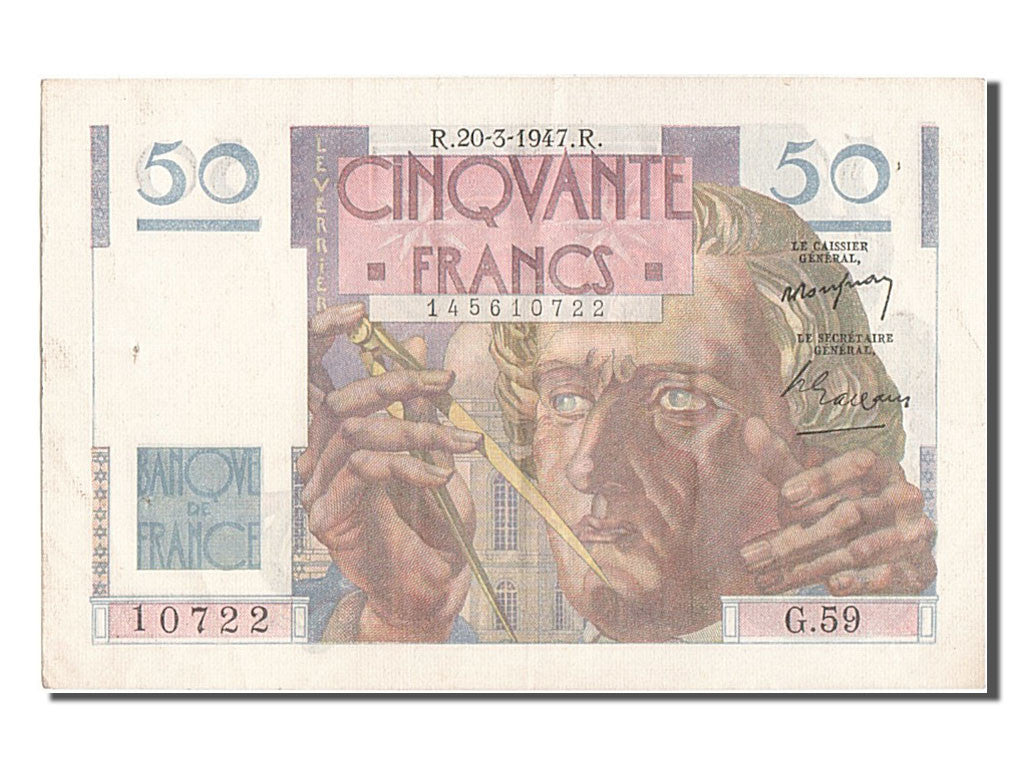 50 Francs type le Verrier