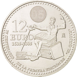 Spain, 12 Euro, 2005, Madrid, KM:1067, SPL, Silver