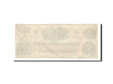 Billet, Confederate States of America, 100 Dollars, 1862, 1862-08-26, KM:45, TTB