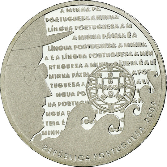 Portugal, 2-1/2 Euro, 2009, Proof, FDC, Argent, KM:791a