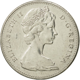 Canada, Elizabeth II, 5 Cents, 1967, Royal Canadian Mint, Ottawa, TTB+, Nickel