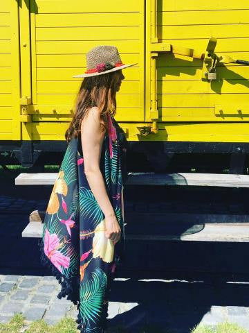 Styling Tipp: Sommerweste in Hawaii-Style