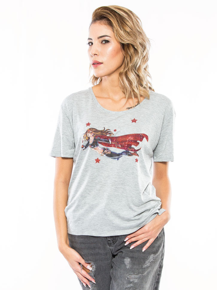 #POWERWOMAN - SUPERWOMAN T-SHIRT