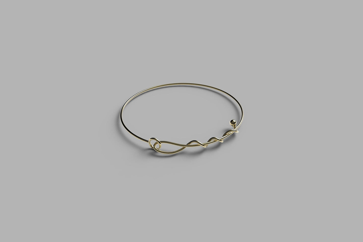 A line of love bracelet | yellow gold