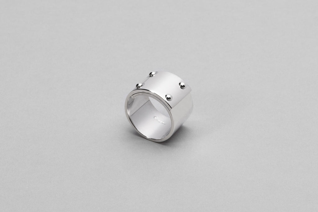 Wyatt Love Ring | Sterling Silver
