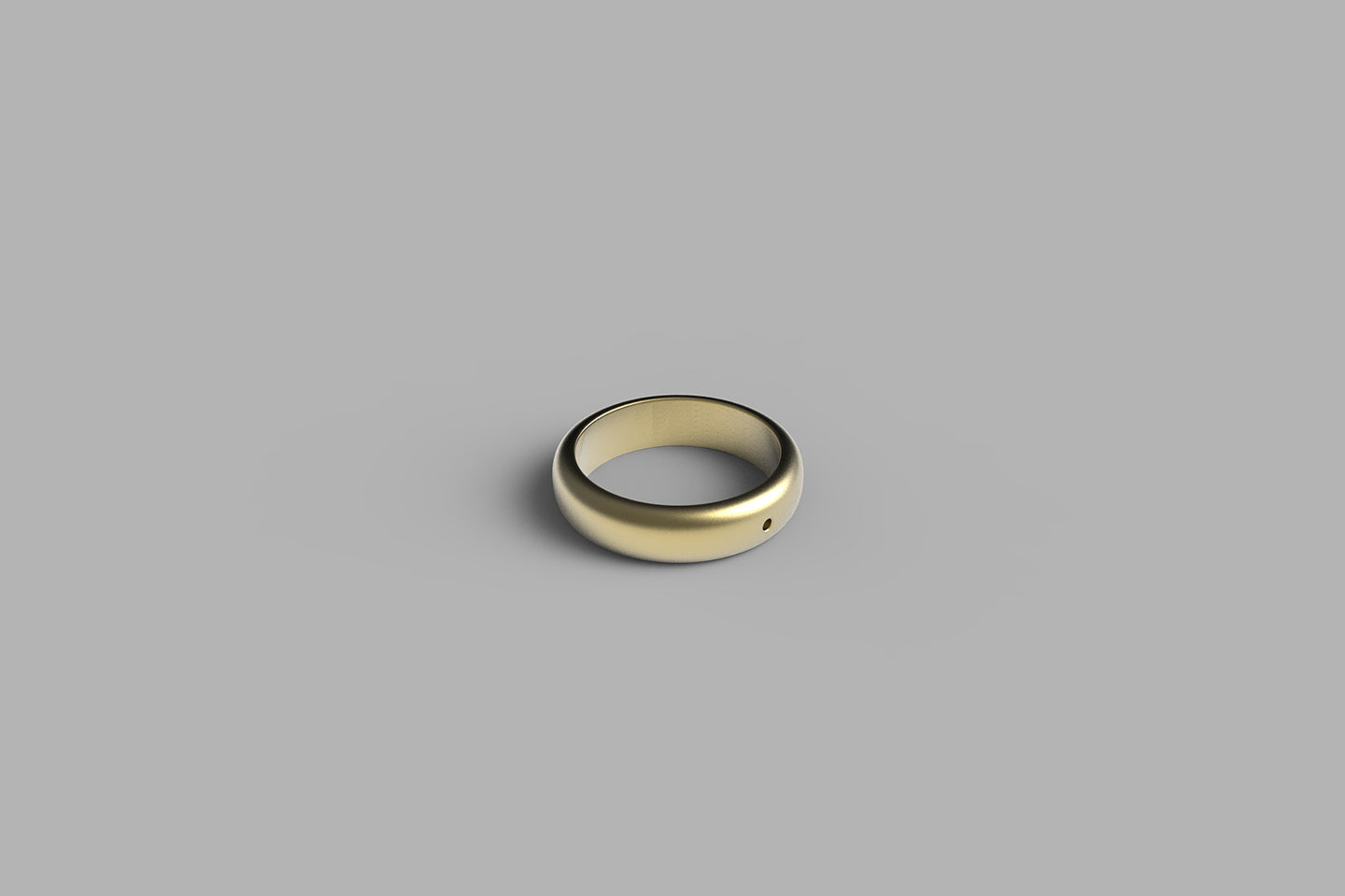1990 Ring 5mm | 18k yellow gold