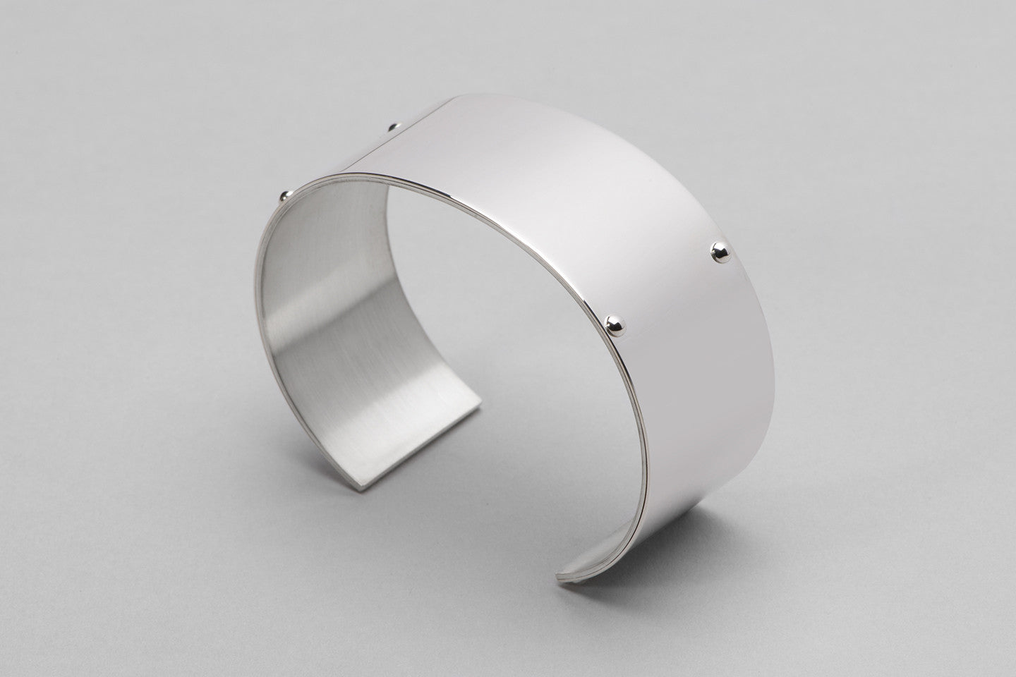 Wyatt Love Cuff | Sterling Silver