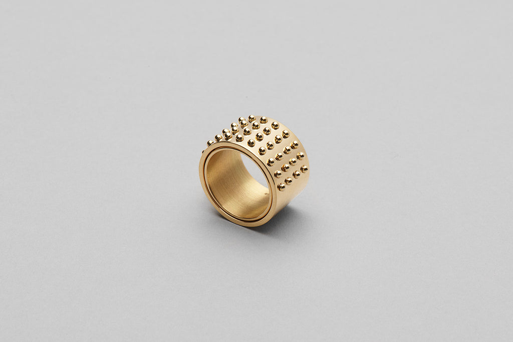 Wyatt More Love ring | 18k yellow gold