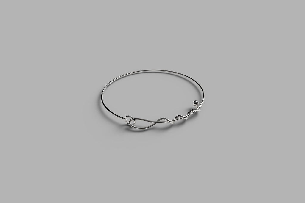 A line of love bracelet | sterling silver