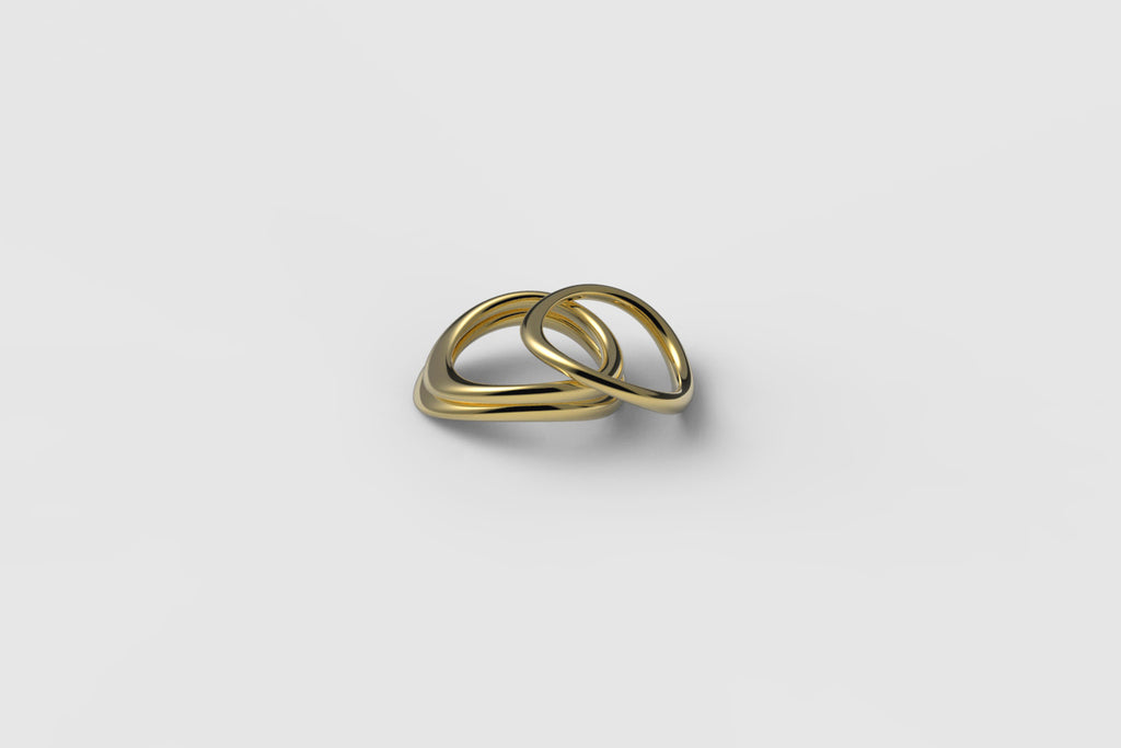 Egg Ring | 18k yellow gold