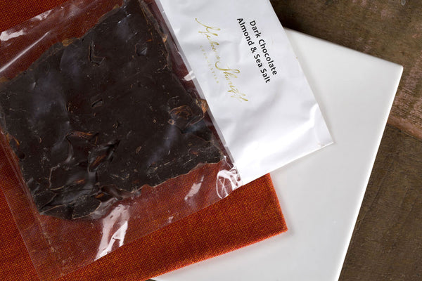 Dark Chocolate with Almond and Sea-salt