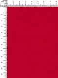 100% Cotton Red Colour Poplin Satin
