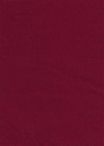100% Cotton Maroon Colour Dyed Twill