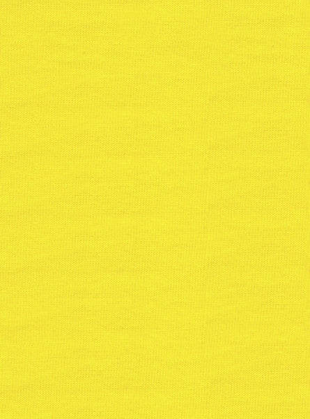 100% Cotton Yellow Colour Single Jersey