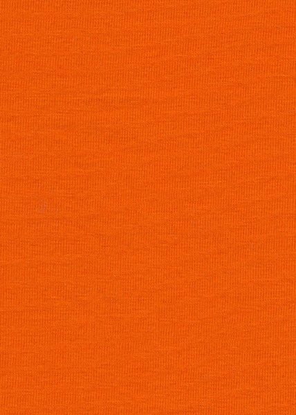95% Cotton/5% Spandex Orange Colour Jersey