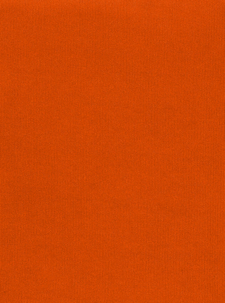 100% Polyester Orange Colour Interlock