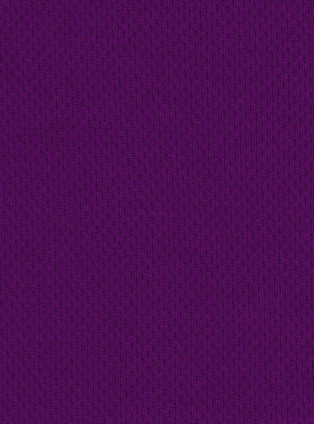 100% Polyester Purple Colour Mesh Interlock