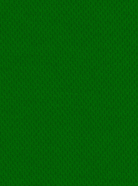 100% Polyester Light Green Colour Mesh Interlock