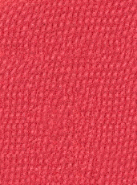 100% Polyester Vertex Coral Colour Single Jersey