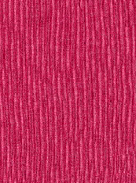 100% Polyester Pink Colour Single Jersey