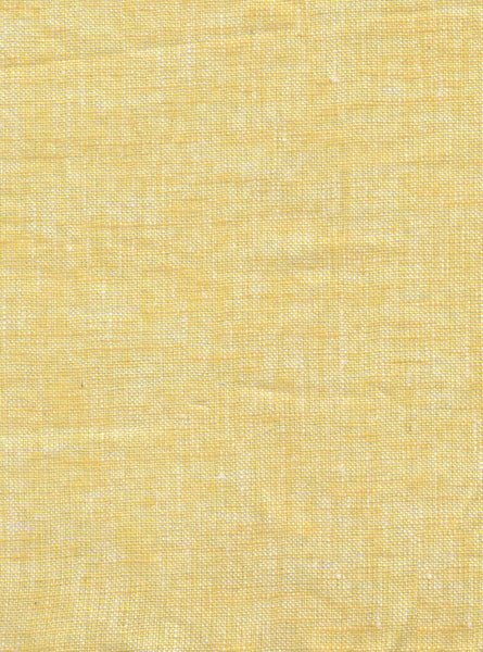 100% Linen Yellow/White Colour Linen Slub