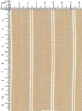 100% Viscose Beige/White Colour Stripes Dobby