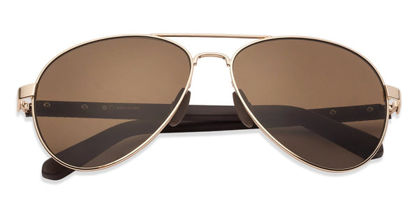 Sunglasses For Women-Aviator-Brown-SG