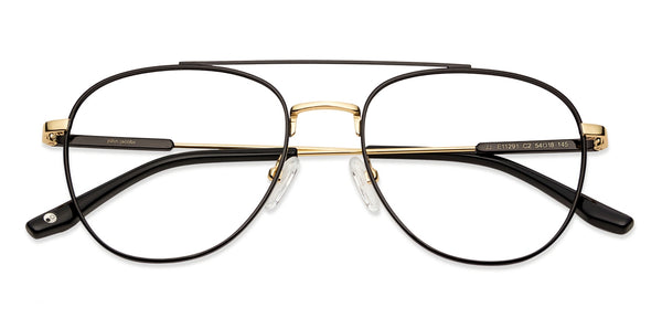 Eyeglasses-Aviator-Black-EG