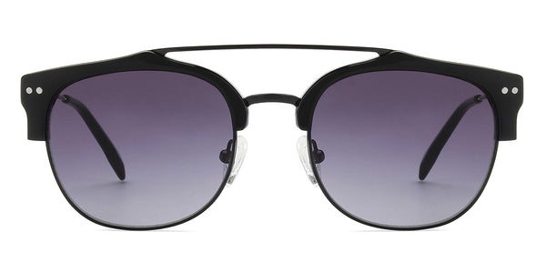 Sunglasses-Clubmaster-Black-SG