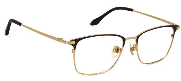 Eyeglasses For Women-Rectangle-Black Gold-EG