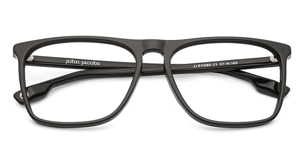 The Textured View Collection-Rectangle-Black-EG