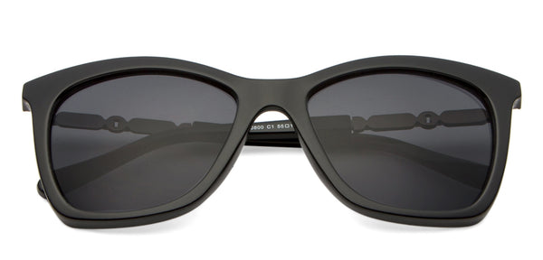 Sunglasses-Cat Eye-Black-SG