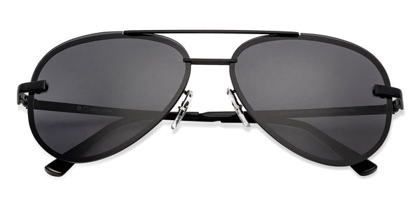 Aviator Sunglasses-Aviator-Black-SG