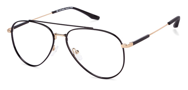 Eyeglasses For Men-Aviator-Gold-EG