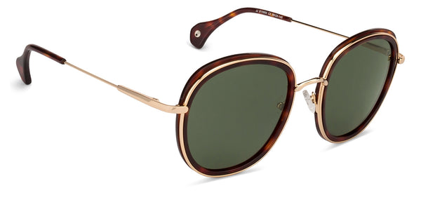 Sunglasses For Women-Round-Gold-SG