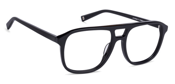 The Textured View Collection-Wayfarer-Black-EG