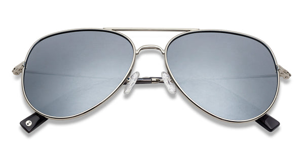 Aviator Sunglasses-Aviator-Silver-SG