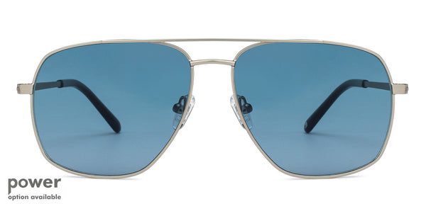 Sunglasses-Aviator-Matte Black-SG