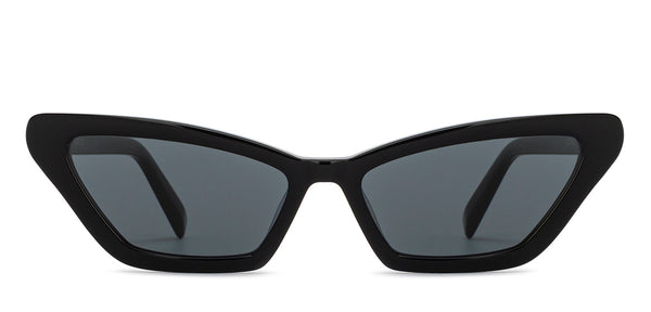Sunglasses-Cat Eye-Grey-SG