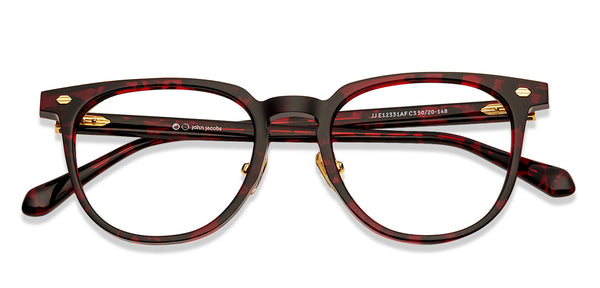 Eyeglasses For Men-Round-Black-EG