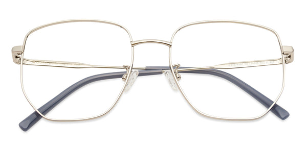 Eyeglasses-Round-Gold Cream-EG